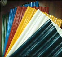 Corrugated roofing sheet / prepainted galvanized iron sheet / color sheet with factory price