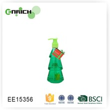 fancy christmas tree shape bottle liquid hand soap