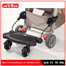 Factory customized stainless steel PP ABS Stainless Steel baby stroller buggy board