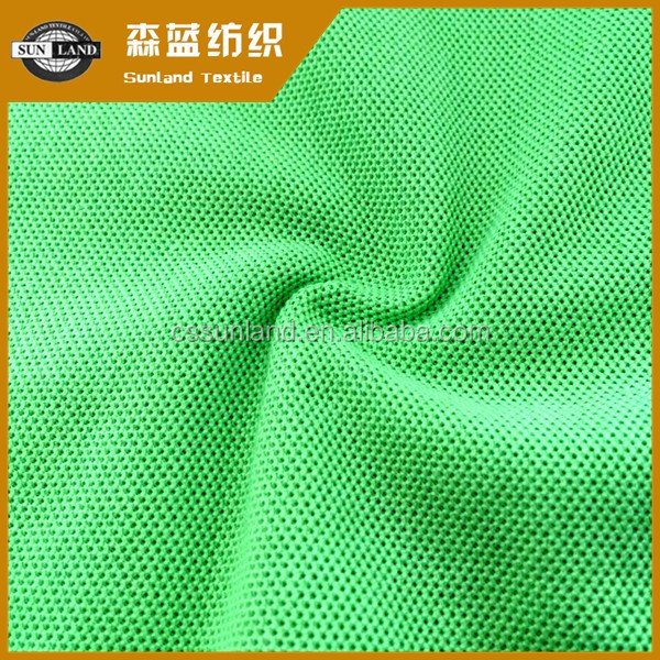 Hot sale 100% cotton antistatic anti-UV pique fabric for polo shirts