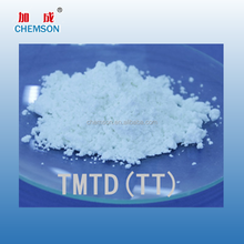 tetramethylthiuram disulfide rubber compounding accelerator TMTD TT