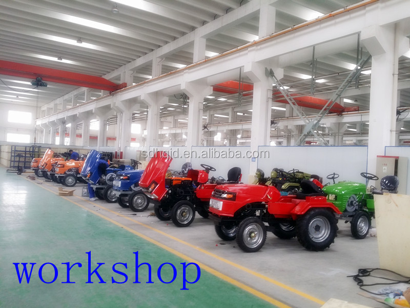 hongqi factory agriculture machinery tractor 12hp zubr mini tractor with plow cheap price mini tractor