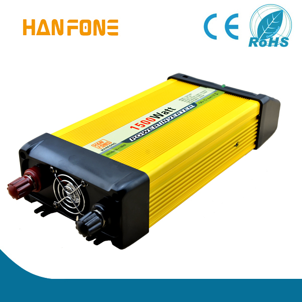 1,500W Car Power Inverter for Household Appliances and Entertainment Electronics, 12V DC, 220V AC