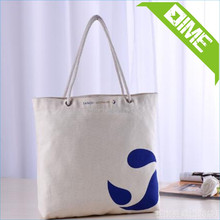 Wholesale Canvas Printed Shopping Bags Natural Good Material