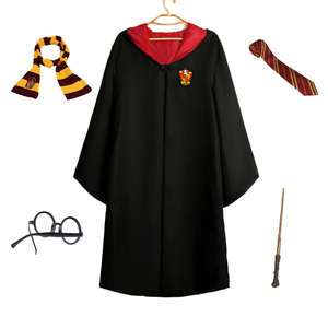 kids boys girls unisex wizard harry potter cloak robe cosplay costume
