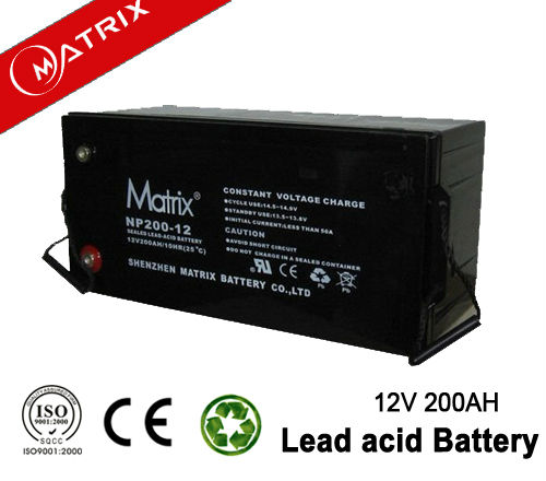 High quality 12v ups battery 200ah