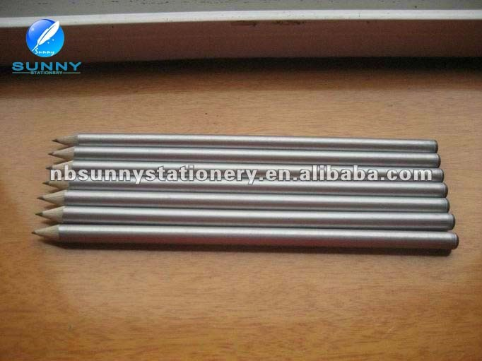 high quality low price silver recycled paper pencil