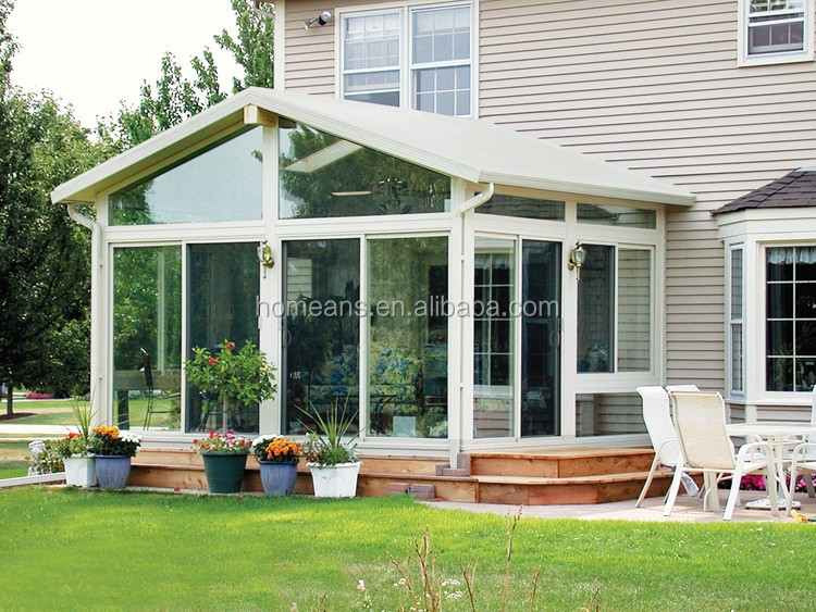 Good factory direct style solarium sunroom aluminium sun porch cheap price
