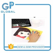 high quality funny promotion heating microfiber usb heating mouse pad