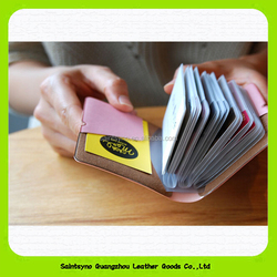 Multi-function PVC Card Holder PVC Card Wallets With Several Inner Pockets 15284