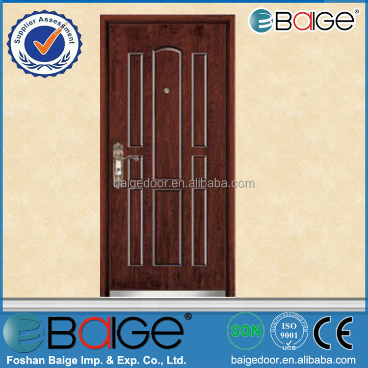 BG-A9040 Baige lowes wrought iron security doors