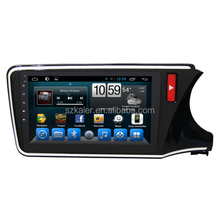 New Product! Factory Android 6.0 2 din Car DVD Player Audio system for Honda City 2014 2015 Hifi Sound good quality