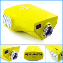 Mini portable Projector LED video projetor for home used proyector USB VGA RCA SD built-in speaker HDMI projecteu