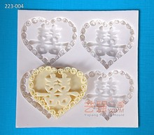 silicone heart shape chocolate mould character xi,silicone cake mould heart,wedding cake decorations