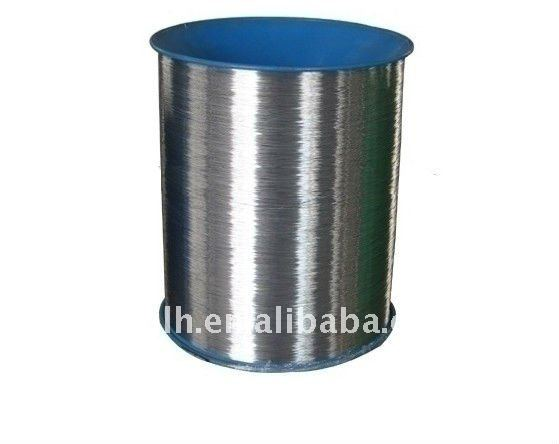 Nylon-coated wire for single/double wire binding,etc
