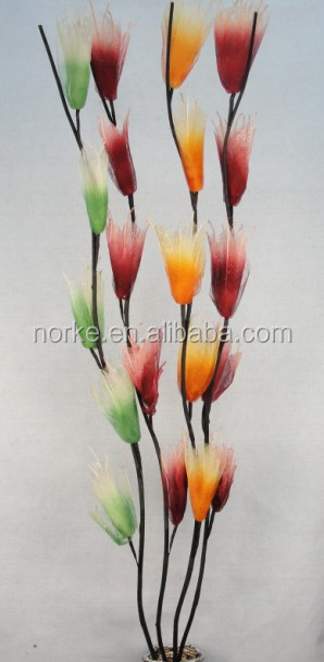 2014 Latest Artificial Dried Flowers Tulip Flowers