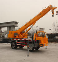 Factory price small hydraulic 7 Ton truck mounted crane
