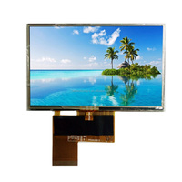 4.3'' tft lcd screen with high brightness for electronic product