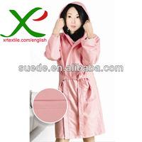 Suede Microfiber Bathrobe/Gown/Hotel gown/Sleepwear