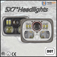 "DOT approved sealed beam square headlight off road square headlight 5X7"" square headlight"