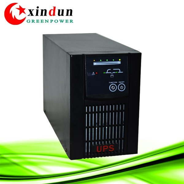 China price Pure sine wave High Frequency Online backup UPS 1~ 2 KVA homeuse battery online ups for industrial use