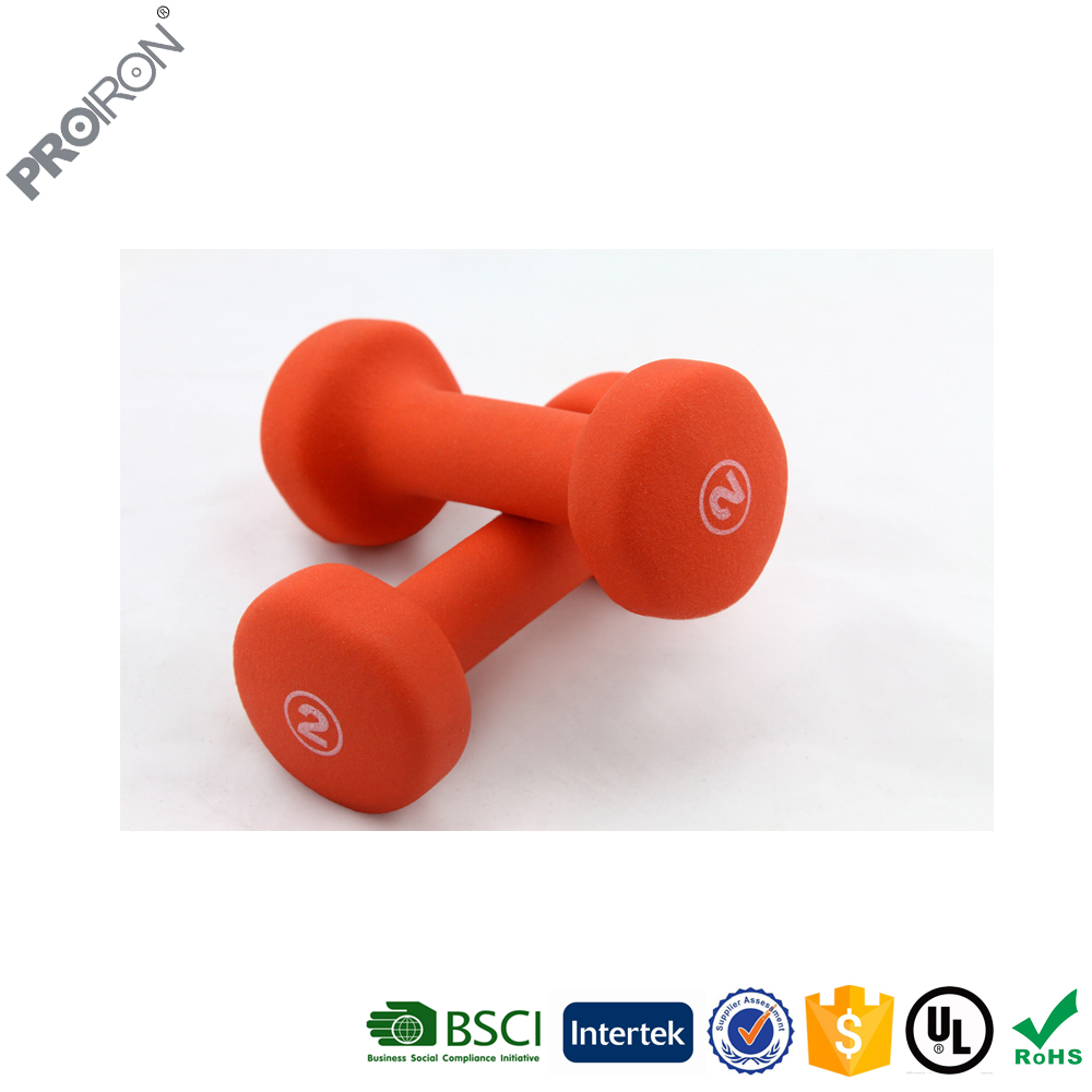 2 LBS Mini vinyl dipping dumbbell weight for women