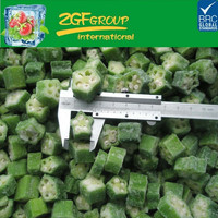 New Crop IQF wholesale price okra