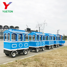Low Price Rides Amusement Park Equipment Kiddie Trackless Train for Sale