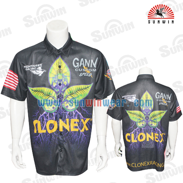 custom sublimation motor racing jersey
