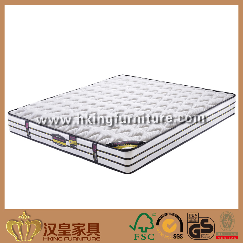 High Density Cheap Price Compress Memory Foam Bed Mattress, Cashmere Knitted Fabric Pocket Coconut Coil Mattress