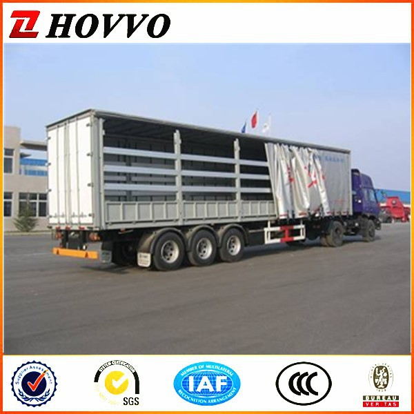 Steel Sheet Van Trailer (Steel Wall Side / Curtain Side)