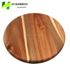 round thick acacia wood chopping block wholesale