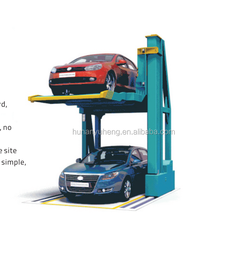 PJS no avoiding simple automated car parking lift garage system home use