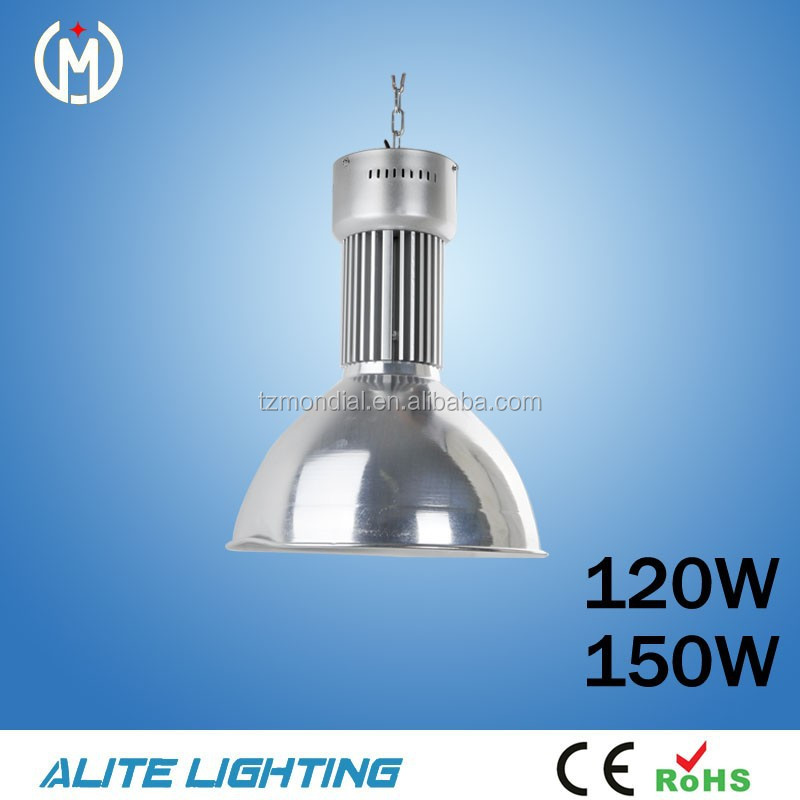 high brightness waterproof cheap led industrial high bay lighting 120W