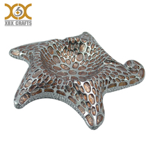 Wholesale custom metal portable seastars antique brass cigar ashtray