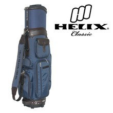 Helix nylon made Japan golf bag with wheels/ Nylon ladies design pink golf bag with wheels