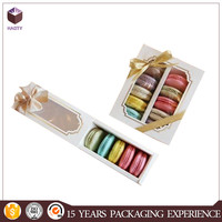 With clear window cardboard cookie gift box