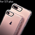 2017 New products Case for iphone 7 plus , Transparent Shockproof Back Cover For Apple iphones 7 plus cellphone case tpu Shell