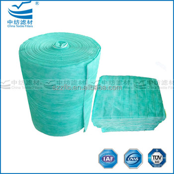 non woven fabric dust filter for air filter