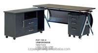 V Shaped Leg Executive Table with Left Handle Mobile Side table/PCP-133-4