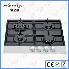 Customized new arrival enameled pan support round gas stove