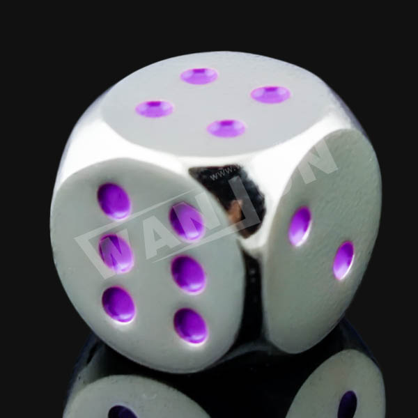 funny printing blank dice