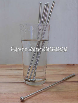stainless steel drink stirrers cocktail stirrers swizzle stirrers