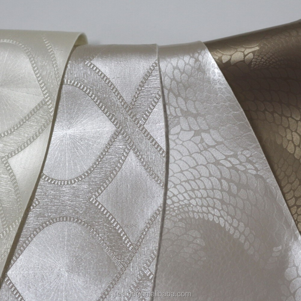 2015 Decorated PVC Leather , Textiles & Leather Products