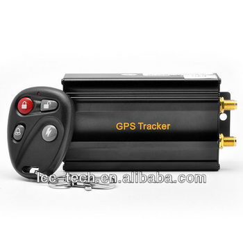 New arrival GPS Tracker TK103B+ with dual sim slot, fuel sensor,central lock system optional