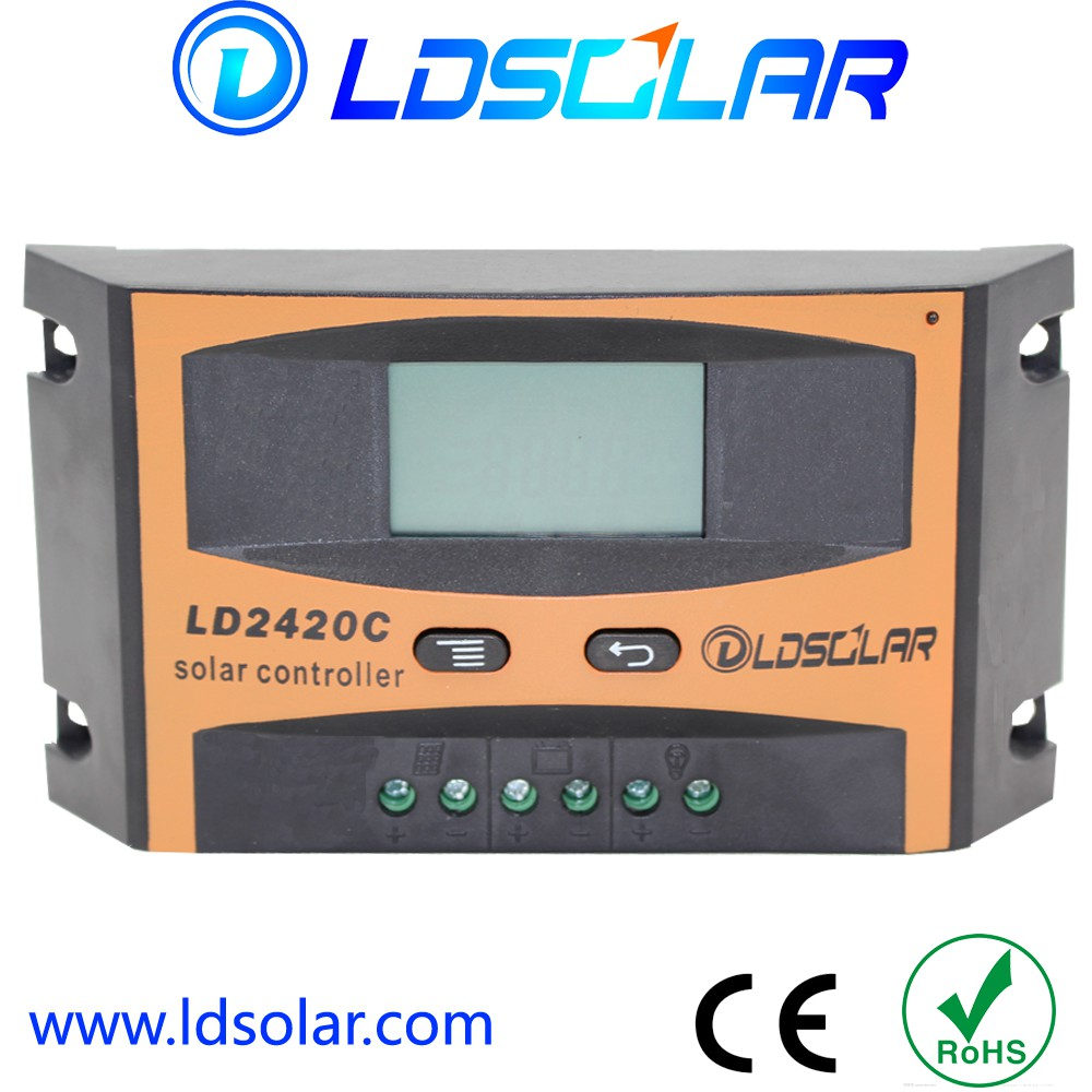 LCD PWM solar charge controller 10A series