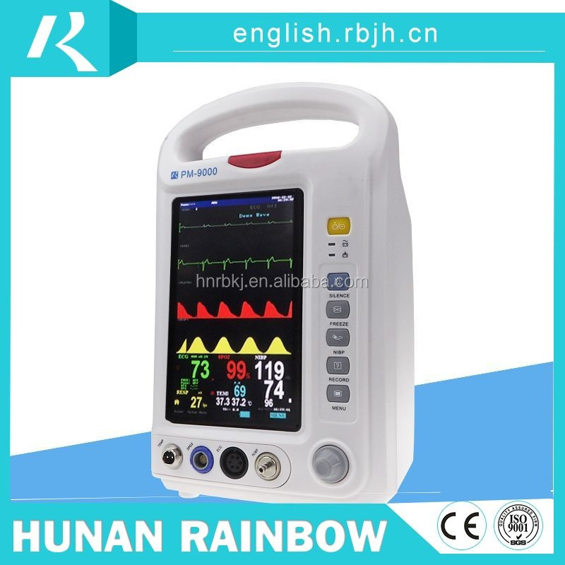 China supplier quality medical equipment/cardiac monitor