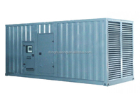 (12V4000G83) MTU engine 2000kva Mercedes-benz silent diesel power generator