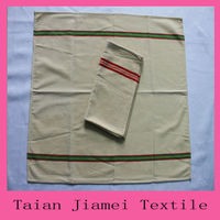 plain white linen & cotton tea towels wholesale