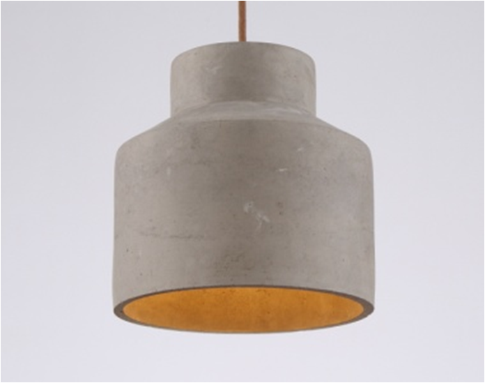 Modern Cement ikea pendant light,Non-toxic non-polluting cement droplight